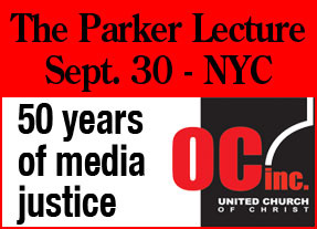 Parker lecture, Sept. 30th, Riverside Church NYC
