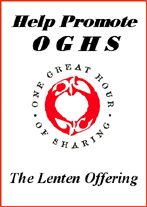 Help promote oghs lenten offering