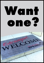 Stillspeaking Welcome Mat