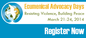Ecumenical Advocacy Days KYP ad
