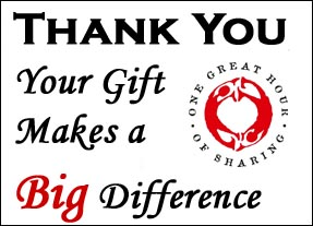 OGHS - Thank you, your gift makes a big difference
