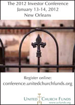 United Church Funds conference