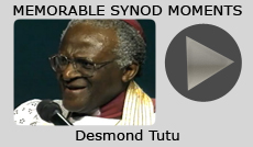 Memorable Synod Moments: Synod in the City