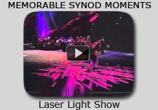 Memorable Synod Moments: Laser Light Show