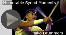 Memorable Synod Moments: Taiko Drummers