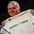 Ben Guess with Mission 4/1 Earth Tshirt