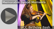 Memorable Synod Moments: UCC Birthday Bash
