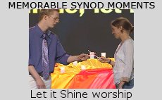 Memorable Synod Moments: Let it Shine worship