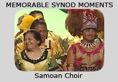 Memorable Synod Moments: Samoan Choir