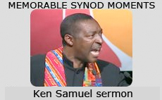 Memorable Synod Moments: Sinikithemba choir from Africa