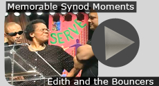 Memorable Synod Moments: Bill Moyers