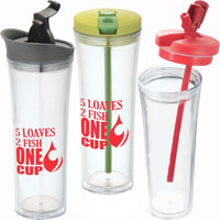 Hot and Cold Tower Tumbler